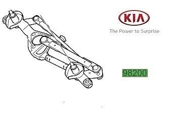 Genuine Kia Ceed 2012-2017 Windscreen Wiper Motor 98110A2900