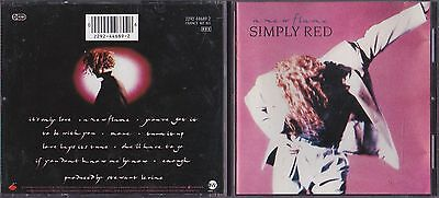 CD. Simply Red - A New Flame
