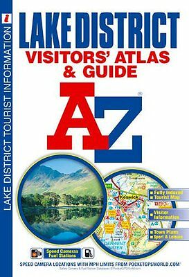 Lake District Visitors' Atlas New Paperback Book Geographers' A-Z Map Company