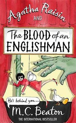 Agatha Raisin and the Blood of an Englishman New Hardcover Book M.C. Beaton