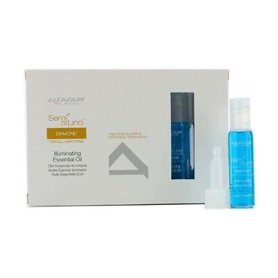 AlfaParf Semi Di Lino Diamond Illuminating Essential Oil (For All Hair 12x13ml