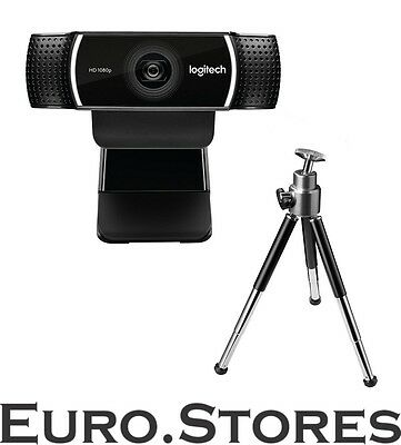 LOGITECH C922 Pro Stream Webcam With Tripod FULL HD 1080P USB Genuine New