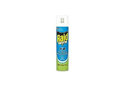Raid Protector Fly, Wasp And Mosquito Killer Spray 300 Ml Pack Of 6 Odourless