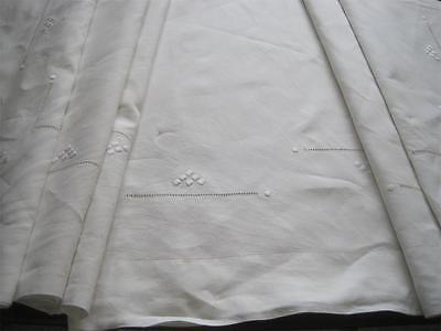 Beautiful Xl French Pure Linen Sheet, Gorgeous Bedding Fabric Or Curtain