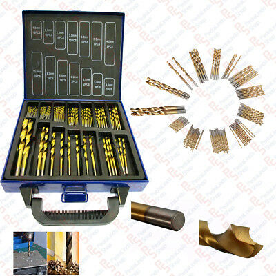 PDR*SET 99 PUNTE ASSORTITE PER TRAPANO HSS DORATE IN TITANIUM 1.5mm-10mm VALIGIA