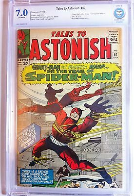 Tales to Astonish 57 Marvel Silver Age 1964 Spider-Man appearance CGC Grade 7