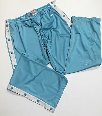 NIKE XL Youth 16-18  Breakaway Snap Away Pant Light Blue Basketball Track