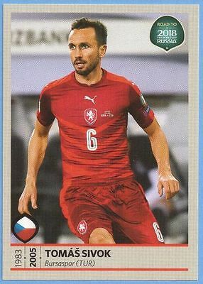 Panini Road to Fifa World Cup 2018 Sticker Nr.34 Tomas Sivok