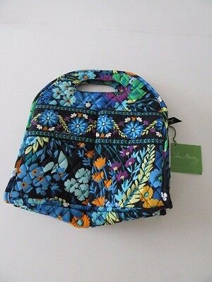 Vera Bradley Midnight Blues Insulated Lunch Tote Zippered (NWT)