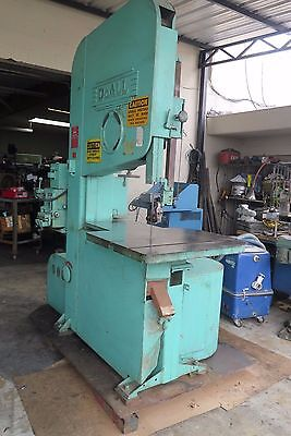 Doall Zephyr Zv-3620 Vertical Contour Band Saw **watch Video**