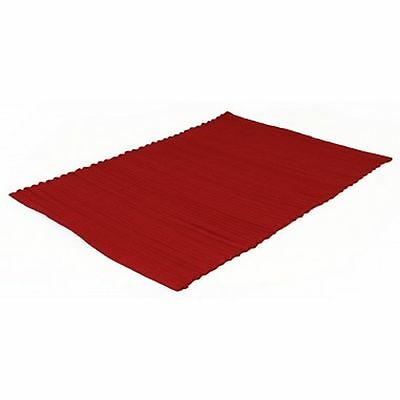 Sabichi Wide Rib Placemat - Red. WAS €4.50 - NOW €2,95