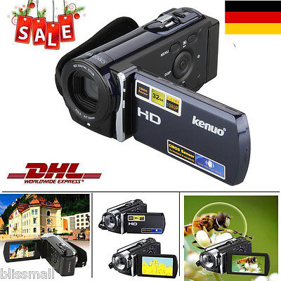 "3"" LCD 16x Zoom HD 1080P 16MP Cámara Digital Videocámara DV HDMI Vídeo Camcorder"