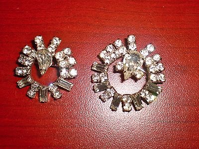 """Lot 2 Jay Flex Sterling Silver Pins 1.5"""" & 1"""" Round Gorgeous"""