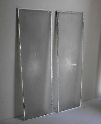 antique etched glass