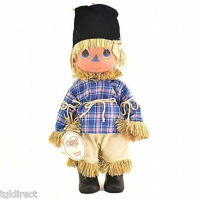 "Precious Moments Doll Wizard Of Oz Scarecrow Clever As Can Be 12"" Collectible"