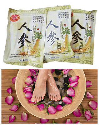 Ginseng Foot Soak Foot Bath 10 packs