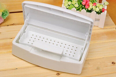 Sterilizing Tray Box for Implements Nail Art Clipper Tools