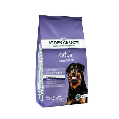Arden Grange Large Breed Chicken and Rice Adult Dog Food 12 kg