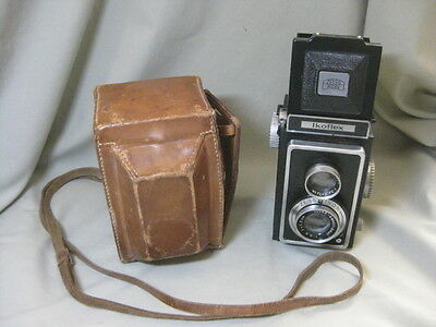 Vintage Zeiss Ikon Ikoflex Camera with Case