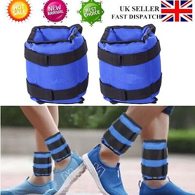 Universal 1 Pair Ankle Wrist Weights Running Training Exercise Fitness 2x 2.5KG