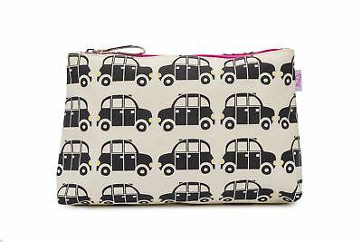 Pink Lining Trousse De Maquillage Wash Sac London Taxis