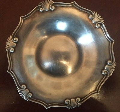19th Century Tiffany & Co Maker Sterling Silver Candy Nut Dish