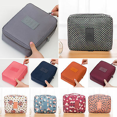Cosmetic Bag Makeup Case Travel Washing Beauty Toiletry Organizer Storage Pouch