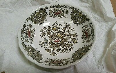 Ridgway Staffordshire England WINDSOR  DEEP SAUCERS  Multicolor Perfect