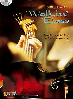 CARISCH Zanchi, Attilio - WALKING BASS (+CD)