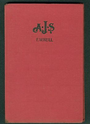 AJS Manual by FW Neill published 1948 covers 1931-1941 Motorcycle book