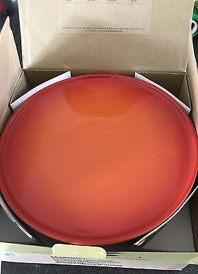 Le Creuset Stoneware 30cm Footed Cake Stand - Volcanic (BNIB)