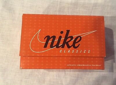 VINTAGE NIKE Classics Commerative Shoe Footwear MJ Gold Shoe BOWEN DESIGNS NIB