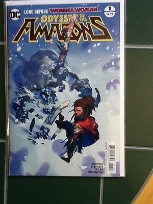 Odyssey Of The Amazons Issue #1 Variant Cover DC Comic Wonder Woman