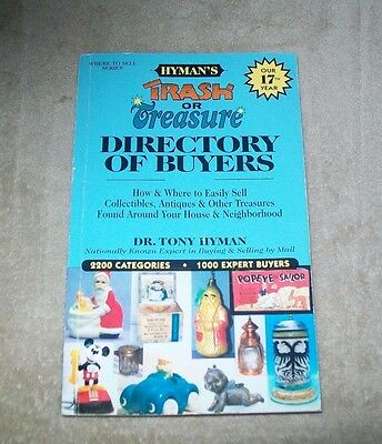 Trash or Treasure  Directory of Buyers 1998 by Tony Hyman