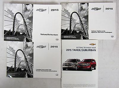 2015 chevy chevrolet tahoe suburban owners manual guide book rh picclick com Suburban Transmission Manual 2015 suburban owners manual pdf