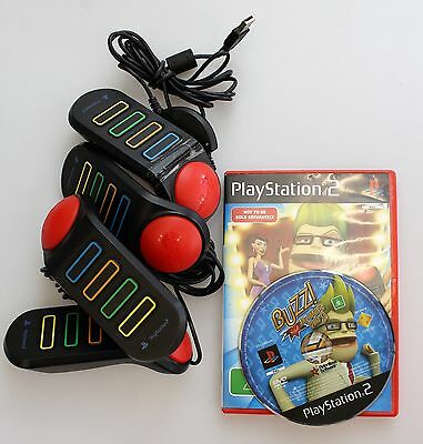 PlayStation 2 BUZZ The Music Quiz with Buzzers PAL