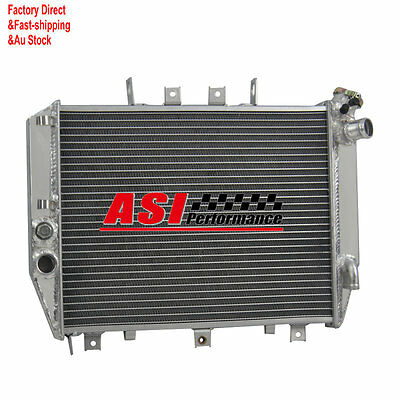 ASI 26mm Aluminum Radiator For KAWASAKI ZX12 ZX12R 2000 2001