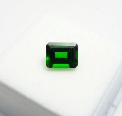 Russian Chrome Diopside 1.90ct - Emerald Cut - 9x7mm - Loose Gemstone