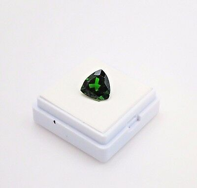 Russian Chrome Diopside Trillion - 2.80ct - 9x9mm - Loose Gemstone