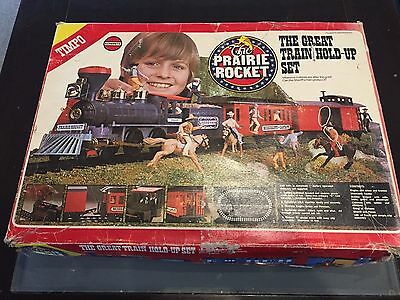 Timpo Prairie Rocket The Great Train Hold-Up Set 1970's Britains Rare