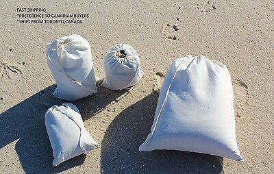 100(3x5) Cotton Muslin Drawstring Bags~EXCELLENT QUALITY~