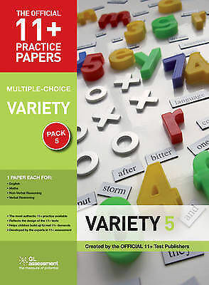 GL 11+ Practice Papers, Variety Pack 5 (Multiple Choice English Maths Non Verbal
