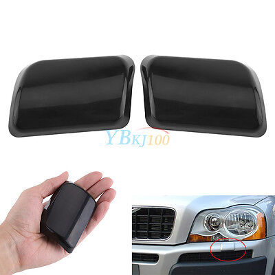 2x Headlight Washer Nozzle Cover Cap for Volvo XC90 03-06 30698209 30698208