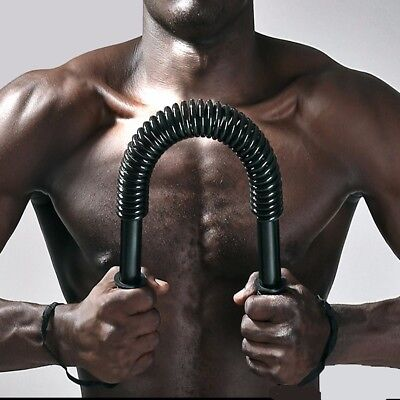Power-Twister-Bar-Heavy-Duty-Spring-Strength-Training-Arm-Chest-muscle-Exercise