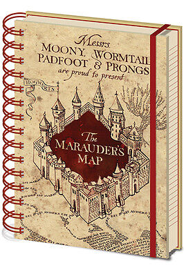 Preordine - Harry Potter Marauder Map Notebook - Taccuino Agenda A5 Film