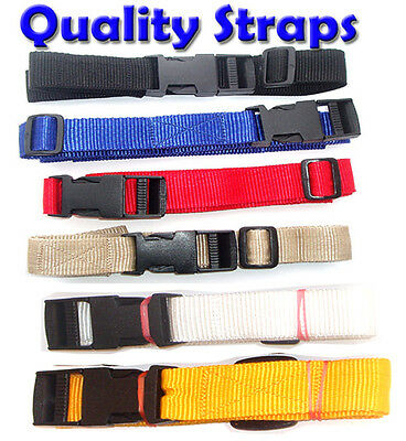 1M x 2 GOLF TROLLEY WEBBING straps POWAKADDY 40mm wide