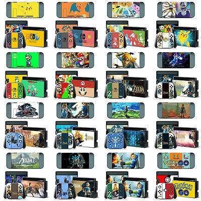 For Nintendo Switch Console Game Film Sticker Decals Paster Cover Skin Protector
