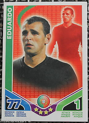 Match Attax World Stars 2010 - Eduardo - Portugal