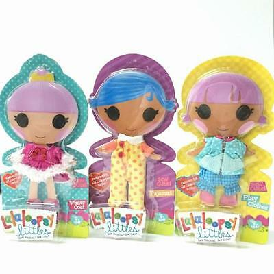 Lalaloopsy Littles Fashion Pack - Play Clothes + Pyjamas + Winter Coat 3 PACK!