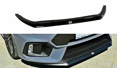 Cup Spoilerlippe Front Diffusor Schwarz VW POLO MKV
